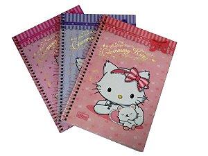 Caderno Espiral 1/4 96 Folhas Charmmy Kitty Tilibra 111864