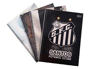 Caderno Universitário 1x1 Santos Tilibra 111279
