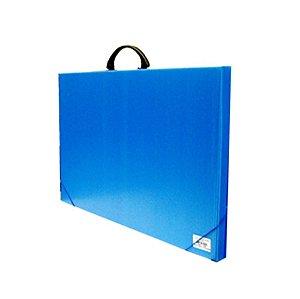 Pasta Prof A3 Com Alça New Line Azul Polibras 94609