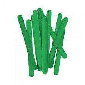 Palito De Sorvete Verde Pacote Com 100 Unidades Theoto 1136032
