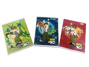 Caderno Brochura 1/4 96 Folhas Ben 10 Grafons 600016