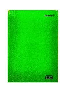Caderno Brochura 1/4 Capa Dura 96 folhas Mais+ Verde Tilibra 116718