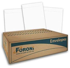Envelope Saco Branco 260X360  Com 250 Unidades R.2836 Foroni
