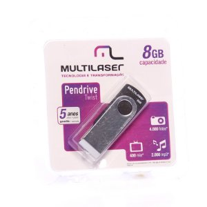 Pendrive Twist 8GB R.PD103 Multilaser