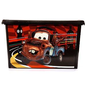 Caixa Organizadora 18,7 Litros Carros Disney Plasutil 4410