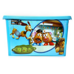 Caixa Organizadora Toy Story 18,7 Litros 4395 Plasutil