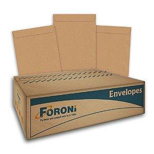 Envelope Saco Kraft 162x229 Com 250 Unidades 18.1023 Foroni