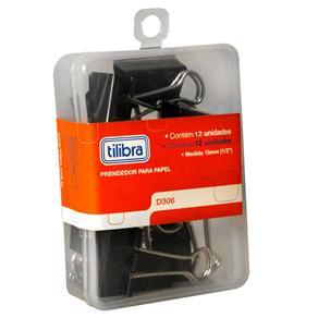 Prendedor Para Papel D306 Com 12 Unidades Tilibra 211494