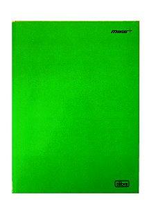 Caderno Brochura Universitário 48 Folhas Capa Dura Mais+ Verde Tilibra 116751