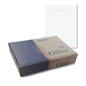 Envelope Saco Branco 229x324 Com 100 Unidades R.18.2853-2 Foroni