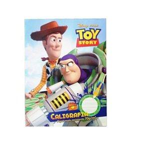 Caderno Brochura Universitário Caligrafia Toy Story 40 Folhas Capa Dura Tilibra