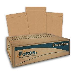 Envelope Saco Kraft 185x248 Com 250 Unidades R.181024 Foroni