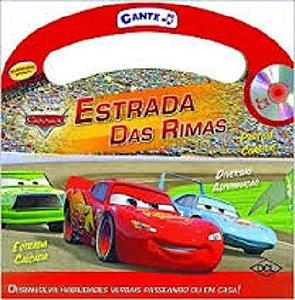 Livro Mini Maleta Cante Carros Disney DCL 130