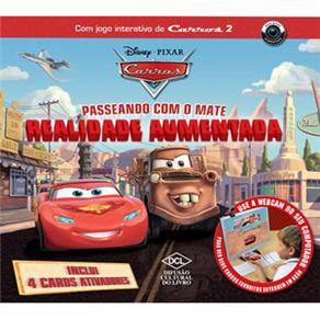 Livro Ilustrativo Passeando Com Mate Carros 2 Disney DCL 533