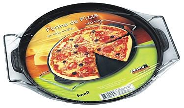 Forma de Pizza Com Suporte R.648 Fumil