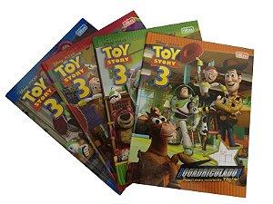 Caderno Brochura Universitário Quadriculado Toy Story R.131067 Tilibra