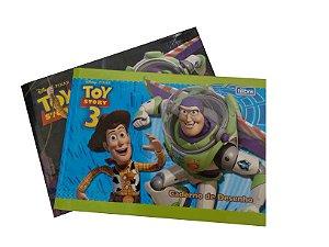 Caderno Cartografia 40FLS Toy Story R.590100 Tilibra