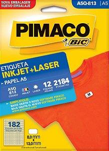 Etiqueta Inkjet/Laser A5Q-813 Pimaco