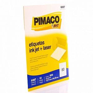 Etiqueta Carta INK JET R.6087 Pimaco