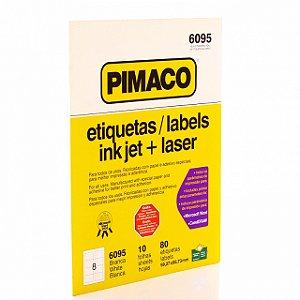Etiqueta Carta INK JET R.6095 Pimaco