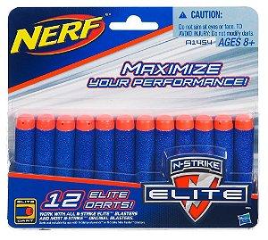 Nerf Refil N-Strike Elite 12 Dardos B1454 Hasbro