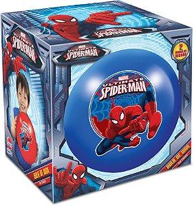 Bola De Vinil Na Caixa Spiderman R.531 Marvel