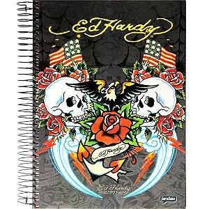 Caderno Universitário 10x1 ED Hardy Jandaia 52606-14