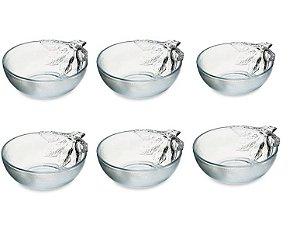 Jogo Com 6 potes de Sobremesa R.LB-353 Ricaelle