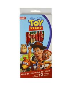 Lapis De Cor 12 Cores Toy Story R.637501 Tris