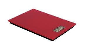 Balança Digital Para Cozinha 5 Kilos Red R.BL-12020067-R Ricaelle