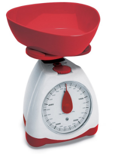 Balança Cozinha 5 Kilos Fun R.BL-JAA11016-R Ricaelle