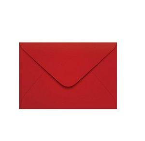 Envelope Visita 72x108 Vermelho Tokio Com 100 Unidades R.18.2523-1 Foroni