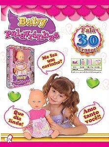 Boneca Baby Palavrinha Brink Model 1502