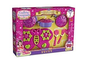 Cozinha Encantada das Princesas Com 7 Peças Brinquemix CEP0100