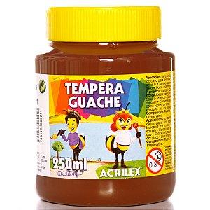 Tinta Guache 250ml Cor 0531 02025 Marron Acrilex