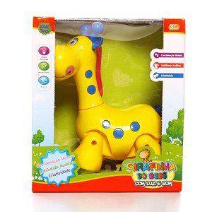 Girafinha do Bebê com Luz e Som R.PB0149 Ploft