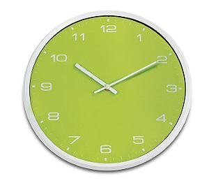 Relógio de Parede Colors 33cm Verde R.EG6943VD Ricaelle