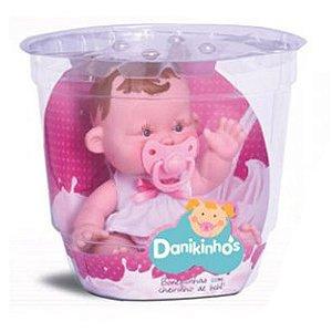 Boneca Danikinhos Baby R.800 Sid Nyl