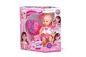 Boneca Cura Baby R.765 Sid Nyl