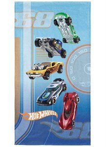 Toalha Aveludada Transfer Hot Wheels Lepper 4121901