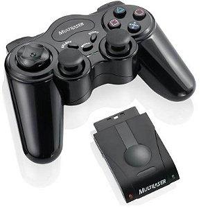 Controle De Joystick Sem Fio Playstation Multilaser JS019