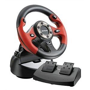 Controle Volante GT 2 em 1 JS049 Multilaser JS049