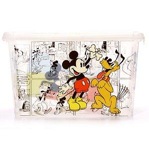 Caixa Organizadora 18,7 Litros Mickey Plasútil 7105