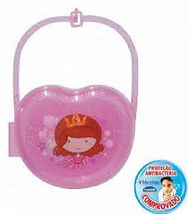 Porta Chupeta Decora Baby Princess 7066 Plasútil