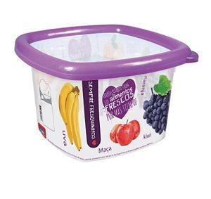 Pote Conservamax 1,05 Litros Decora Frutas Plasútil 3189