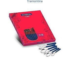 Faqueiro Leme Caixa C/36 Peças R.23198/142 Tramontina