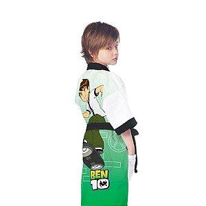 Roupão Infantil Ben 10 Aveludado P R.5313401 Lepper