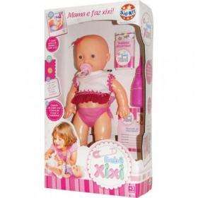 Boneca Bebê Xixi R.425 Sid Nyl
