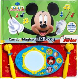 Livro Interativo Tambor Mágico Do Mickey Disney R.2830 DCL