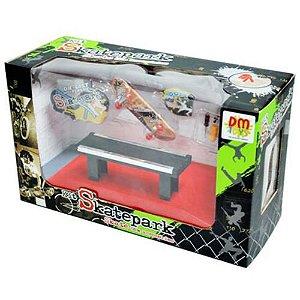 Kit Skate Park Com Rampa E Acessórios Sortido R.DMT3751 DM Brasil